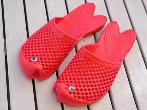 Gold Fish Sandals